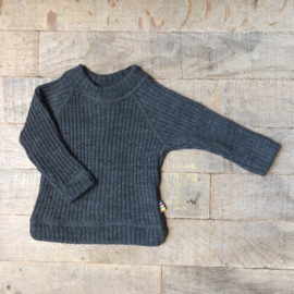 Joha blouse l.s. heavy wool grey