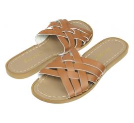 Salt-Water Sandals Retro Slide Tan (Women)