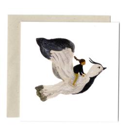 Gemma Koomen 'THE LAPWING' greeting card
