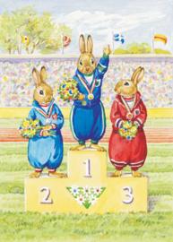 Audrey Tarrant kaart Rabbit Olympic Events