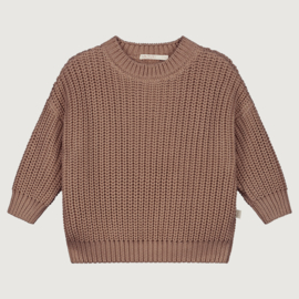 Yuki Originals - Chunky Knitted Sweater - Mist