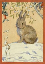 Margaret W. Tarrant kaart 'Just one, please'