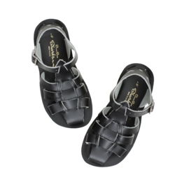 Salt-Water Sandals Shark Black