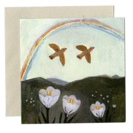 Gemma Koomen 'RAINBOW SEASON' greeting card