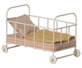 Maileg- cot bed micro rose