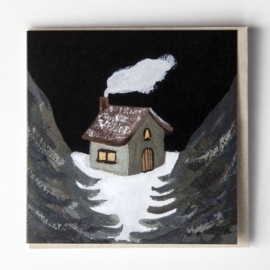 Gemma Koomen 'Winter House' greeting card