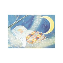 Elsa Beskow kaart Slaapliedje