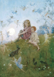 Margaret W. Tarrant kaart do you believe in fairies