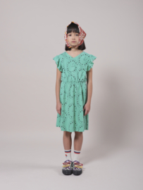 Bobo Choses Playtime all over jersey dress - Mint