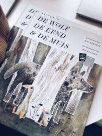 Boek De wolf, de eend en de muis