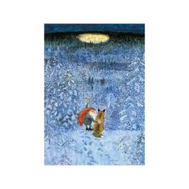 Elsa Beskow kaart Eeuwige Kerstavond door