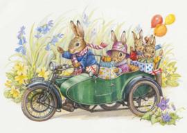 Audrey Tarrant kaart rabbit family