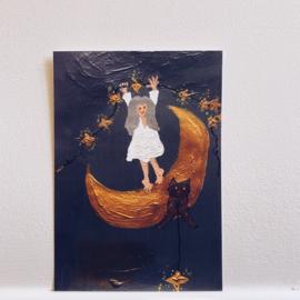 Poster kaart  'stars'