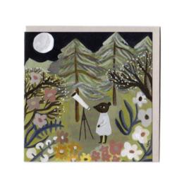 Gemma Koomen 'ASTRONOMOUSE' greeting card