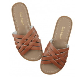 Salt-Water Sandals Retro Slide Tan (Women)