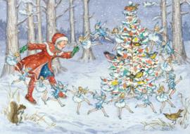 Molly Brett kaart 'The Snow Fairies'