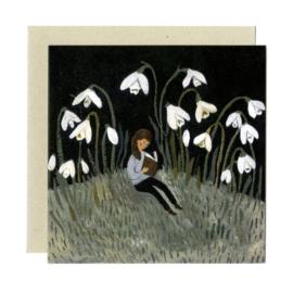 Gemma Koomen 'In the Snowdrops' greeting card