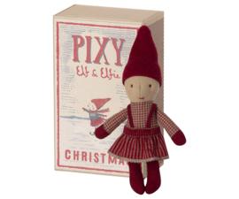 Maileg- pixy elfie in matchbox