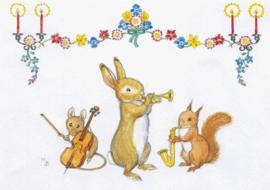 Molly Brett kaart Animal Band