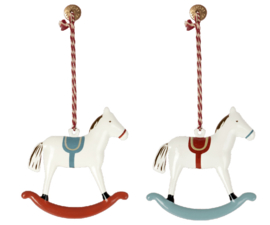 Maileg- metal ornament rocking horse