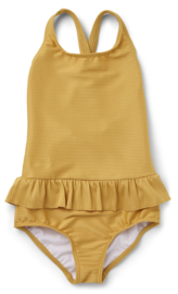 Liewood Amara swimsuit structure - yellow/mellow