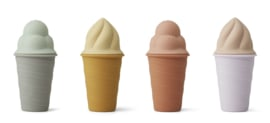 Liewood - Bay ice cream toy 4-pack - Light lavender multi mix