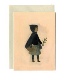 Gemma Koomen 'Tiny Witch' greeting card