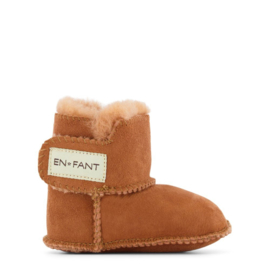 Enfant sheepskin boots leather brown