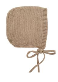 Hvid Bonnet Dolly Sand