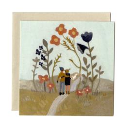 Gemma Koomen 'LOVES PATH' greeting card