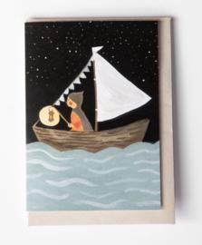 Gemma Koomen 'A Light to Lead the Way' greeting card