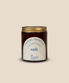 The Very Good Candle Amber Glass Jar 170ml - Sade