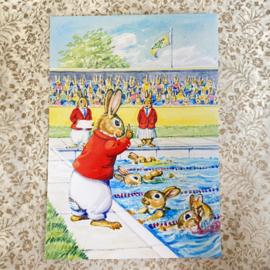 Molly Brett kaart Rabbit Olympic Events