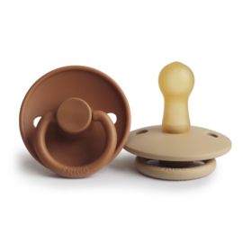FRIGG - CLASSIC - 2-PACK - T2 LATEX - CAPPUCCINO/CROISSANT - T2
