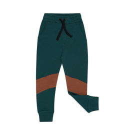 CarlijnQ  Backpack - sweatpants (green) French Terry