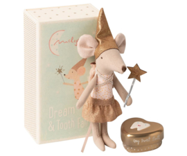 Maileg  TOOTH FAIRY MOUSE IN MATCHBOX, BIG SISTER