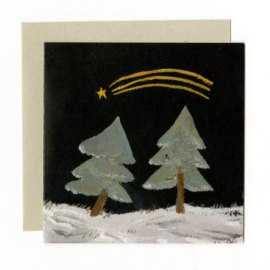 Gemma Koomen 'Shooting Star' greeting card
