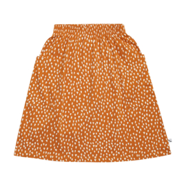 CarlijnQ Golden Sparkles - Skirt with Pockets