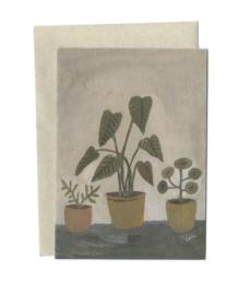 Gemma Koomen 'HOUSEPLANT' greeting card