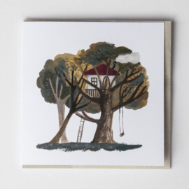 Gemma Koomen 'Tree House' greeting card