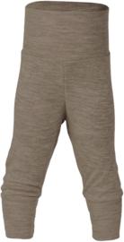 Engel baby broekje wol zijde walnoot bruin