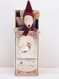 Maileg Christmas mouse in box - Big brother