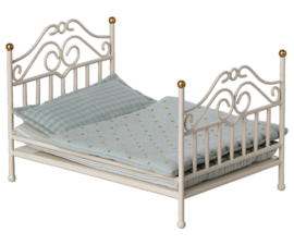 Maileg- vintage bed micro off white
