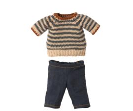 Maileg Blouse en broek voor Teddy papa