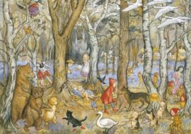 Molly Brett kaart fairy tale wood