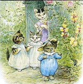 Kaart Peter Rabbit Beatrix Potter