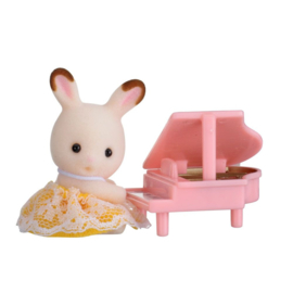Sylvanian Families Baby Carry Case Rabbit with Piano