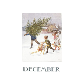 Elsa Beskow kaart December