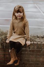 Little Hedonist Hood Sweat dress Rudi Jacquard