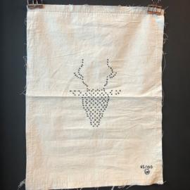 Stitched art 'reindeer'